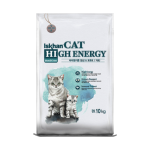 Iskhan cat high energy mom & kitten is high-energy cat food, easy to digest & nutritious. Formulated to meet the needs of a growing kitten